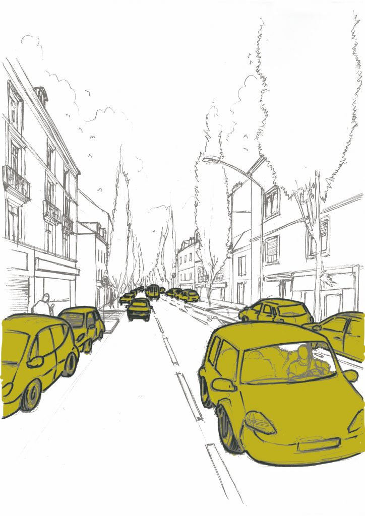 Dessin; Paysage; Urbanisme