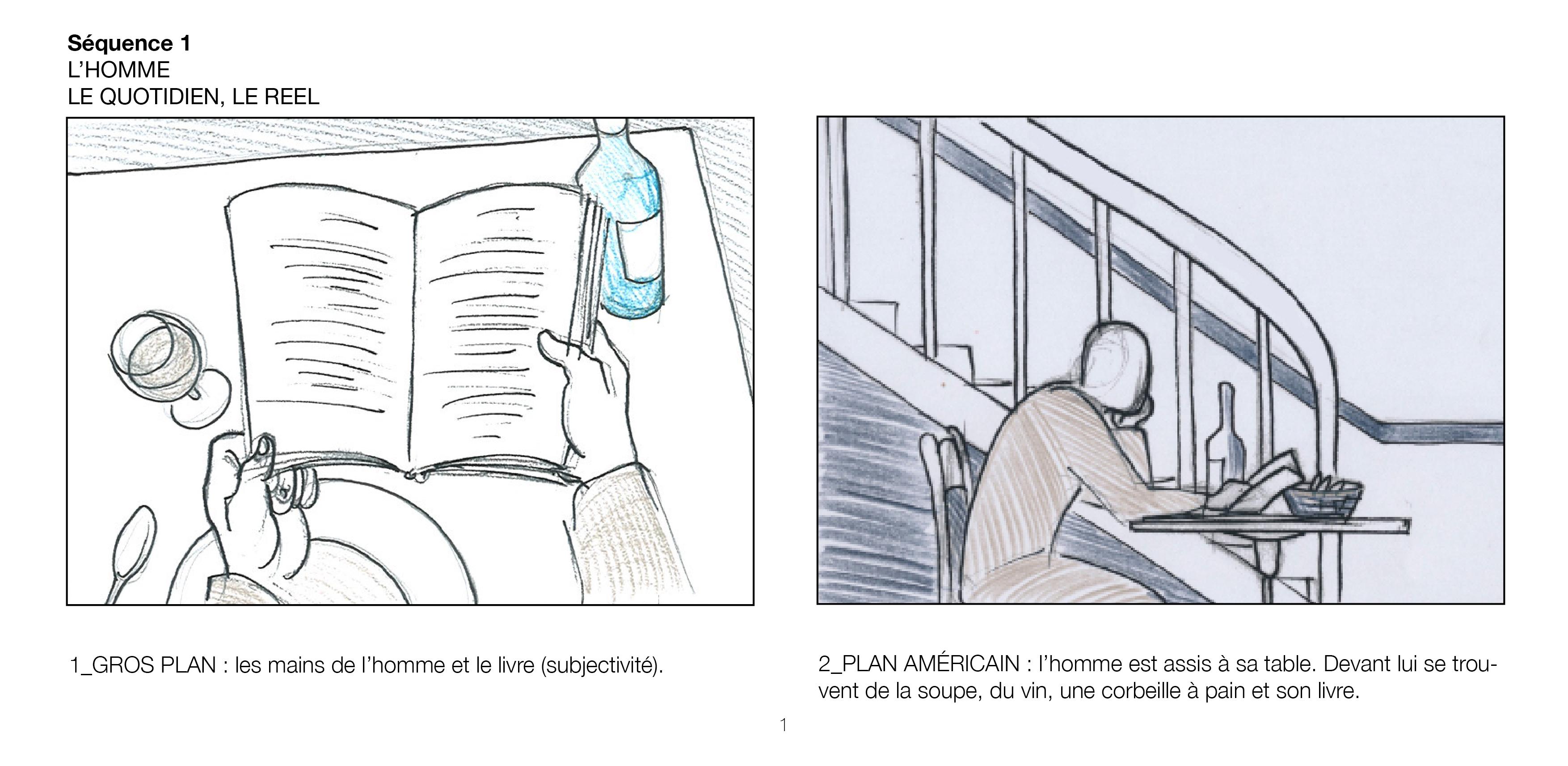 Storyboard; Dessin; Cinéma