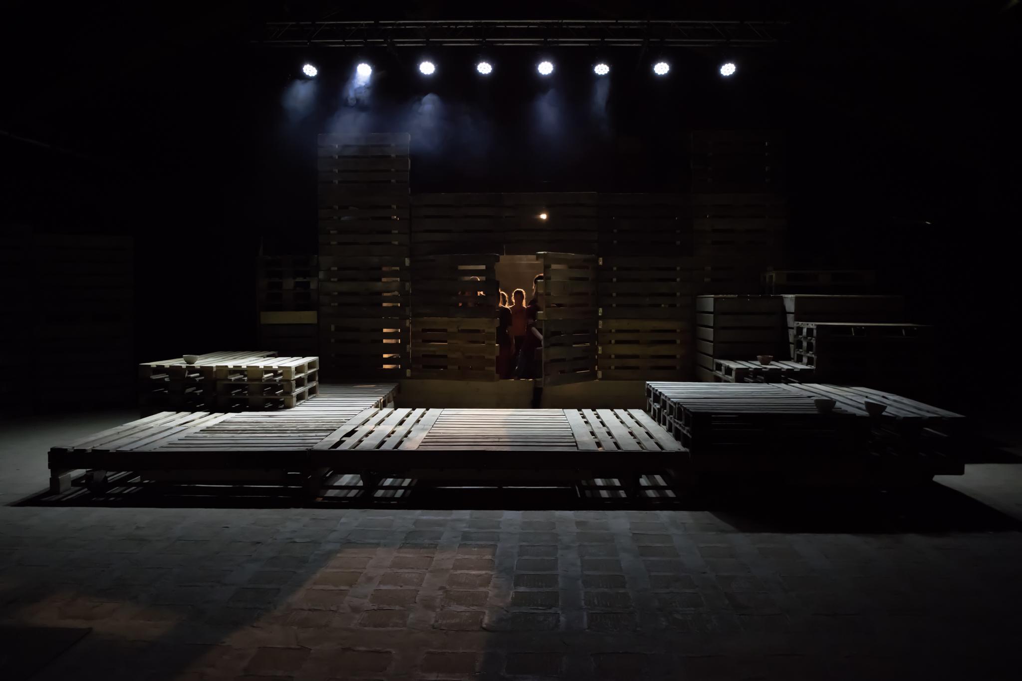 Scénographie; Théâtre
